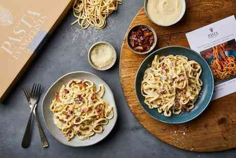 Pasta Evangelists - £20 to spend on recipe boxes including fresh artisan pasta, sauces and garnishes make mouth watering meals - Save 55%
