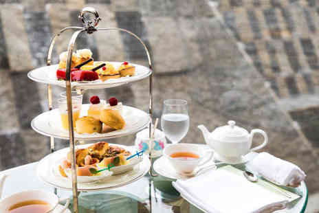 Studley Castle Hotel - Deluxe afternoon tea for two people with a glass of Prosecco each - Save 29%