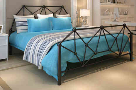 Dreams Outdoors - Double metal bed frame mattress - Save 0%