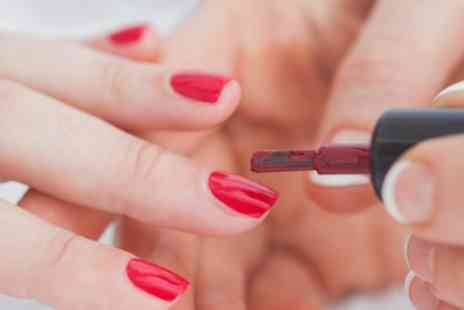 Aesthetically Pleasing Group - Shellac Manicure, Pedicure or Both - Save 43%