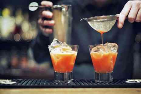 O.P Bar - Four or Eight Cocktails to Share with Nibbles for Two or Four - Save 52%