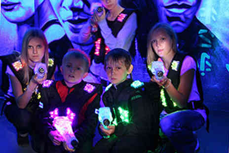 Cannon Raceway - Two games of laser tag for up to 5 people - Save 58%