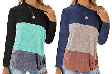 Spezzeee - Womens casual long sleeve jumper - Save 60%