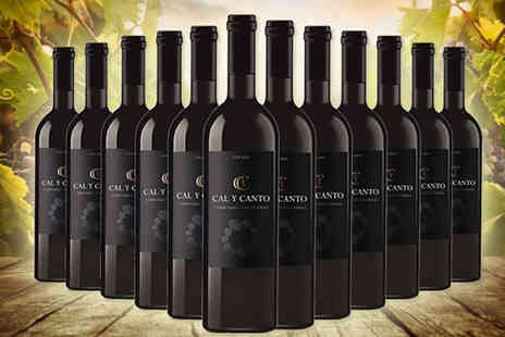 Q Regalo - 12 bottles of luxury Cal Y Canto wines - Save 0%