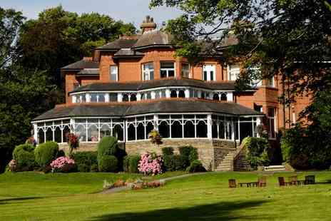 Macdonald Kilhey Court - Four Star Traditional County Retreat with Fabulous Wellness Services for two - Save 49%