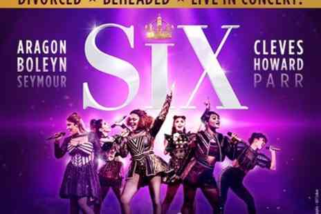 Arts Theatre - Tickets to see Six The Musical - Save 0%