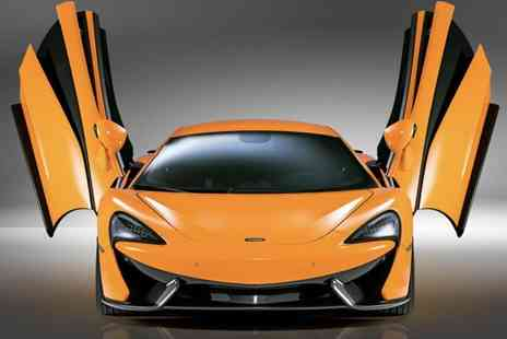 Car Chase Heroes - Three Lap adult driving experience in a McLaren - Save 51%