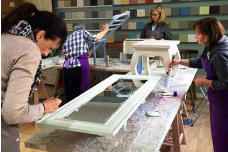 Shabby And - All day beginners furniture painting workshop with lunch - Save 61%