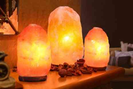 Groupon Goods Global GmbH - Himalayan Crystal Salt Lamp - Save 59%