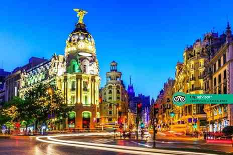 Weekender Breaks - Four Star Two nights central Madrid city break with breakfast and return flights - Save 31%
