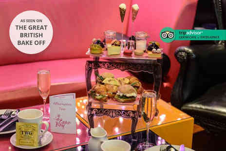 Cake Boy - Afternoon tea for two with a bottle of Veuve Chapelle to share - Save 0%