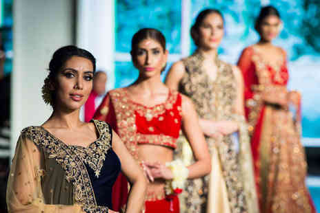 The National Asian Wedding Show - Two tickets with catwalk show access to the National Asian Wedding Show - Save 77%