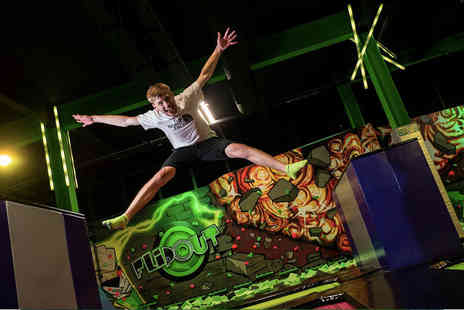 Flip Out Lakeside - Two hour session bounce - Save 52%