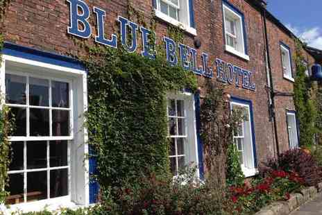 Blue Bell Hotel - Overnight Northumberland break for two people with breakfast, unlimited cheese and wine afternoon and late check out - Save 29%