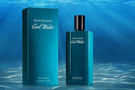 Wowcher Direct  - Mens 75ml Davidoff Cool Water Man after shave spray - Save 49%