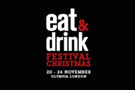 Eat And Drink Festival - Two adult tickets from 20th To 24th November - Save 53%