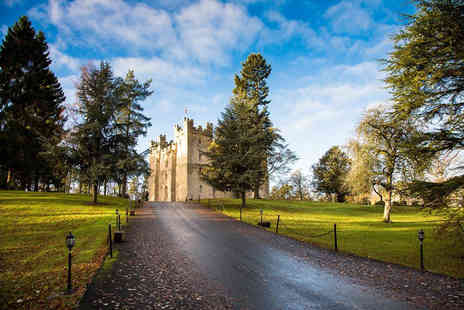 Langley Castle Hotel - Overnight stay for two with a castle tour and breakfast - Save 50%