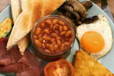 Sugar and Spice Coffee Shop - Full English Breakfast with Drink for Two or Four - Save 37%