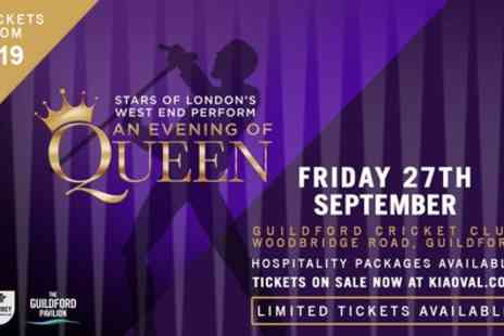 We Will Rock You - One adult ticket to Stars of Londons West End Perform Queenon on 27th September - Save 32%