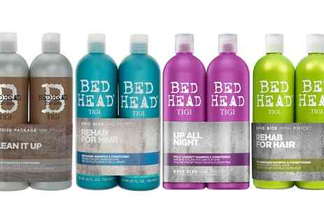 Groupon Goods Global GmbH - One or Two Tigi Bed Head Shampoo and Conditioner Sets 750ml - Save 0%
