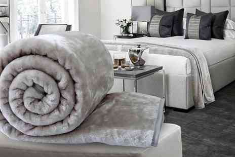 Groupon Goods Global GmbH - Dickens Soft Faux Mink Throws - Save 0%