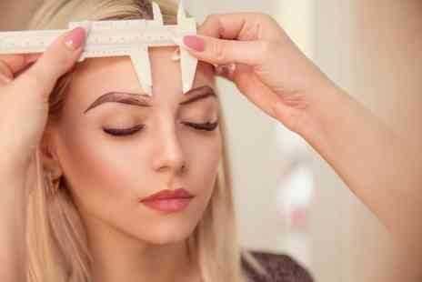 Phibrows by Maryam - Hair stroke microblading or Ombre microblading - Save 74%
