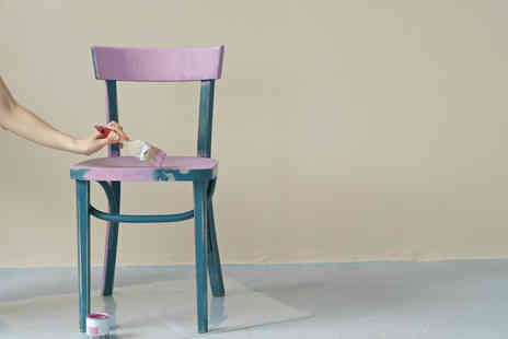 Shabby And - Advanced furniture painting workshop with lunch - Save 61%