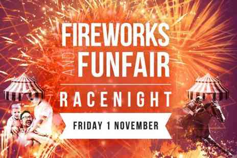 Newcastle Racecourse - Adult ticket to Fireworks and Funfair Race Night on 1st November - Save 36%