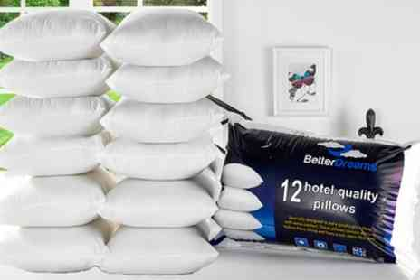 Groupon Goods Global - Better Dreams 12 Pack of Pillows - Save 83%