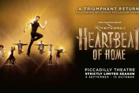 Piccadilly Theatre - Tickets to see Heartbeat of Home - Save 0%