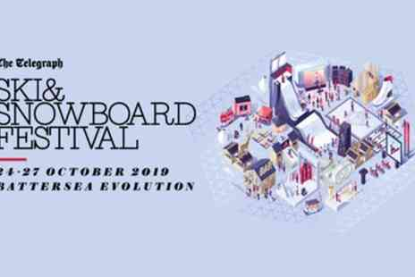 Ski & Snowboard Festival - One Apres evening, adult or family ticket from 24th To 27th October - Save 33%