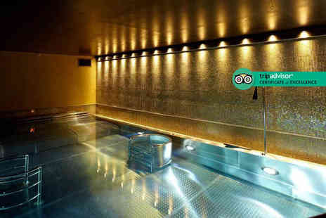 Crowne Plaza London Battersea - Spa package for two people with three-hour thermal spa access, a 25 minute treatment each - Save 51%