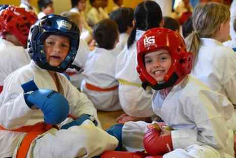 Oxford Karate Academy - Three Month Karate Trainings for Juniors or Adults, Karate Suit Included - Save 86%