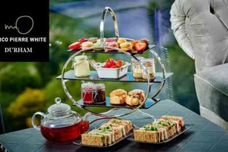 Marco Pierre White Steakhouse Bar & Grill - Afternoon Tea for Up to Four - Save 35%
