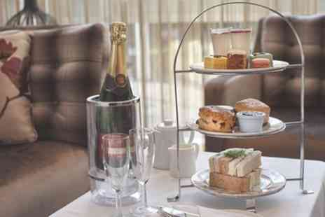 Hilton DoubleTree Woking - Champagne Afternoon Tea for Two or Four - Save 37%