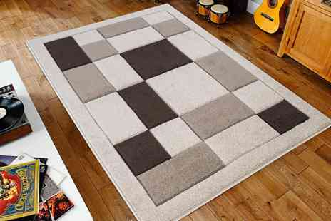 Groupon Goods Global GmbH - Havana Thick Hand Carved Rug in Choice of Size and Colour - Save 0%