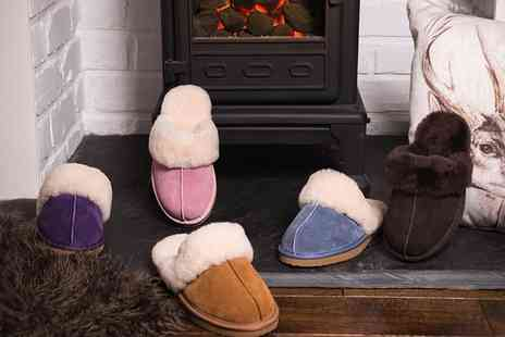 Groupon Goods Global GmbH - Redfoot Womens Sheepskin Lined Slippers - Save 0%