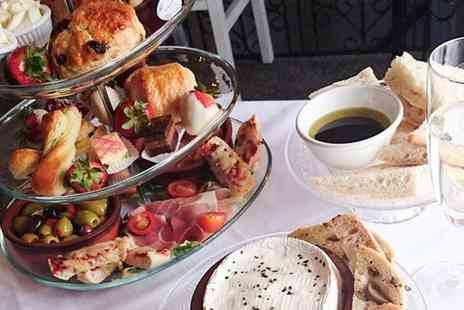 Laceys Bistro - Traditional afternoon tea for two people glass of Prosecco each - Save 53%