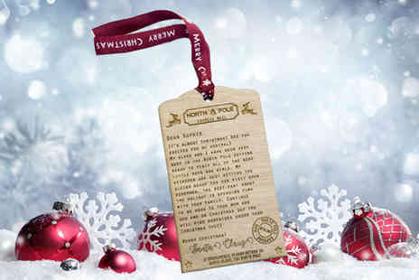 Personalised Gifts Market - Personalised Christmas letter - Save 81%