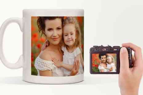 Printerpix - Up to Three Personalised Photo or Magic Mugs - Save 18%