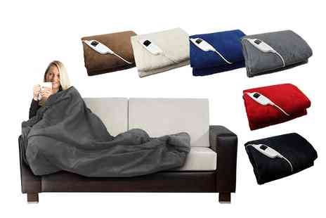 Groupon Goods Global GmbH - Electric Heated Cosy Blanket - Save 0%