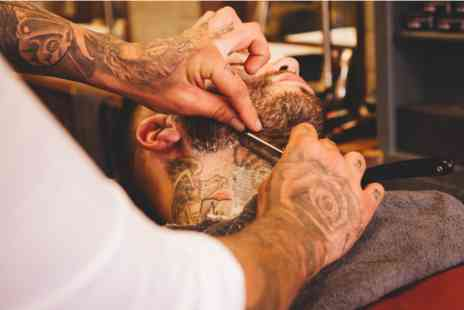 Mr Barbers - Gentlemens Ultimate Grooming with Haircut, Traditional Wet Shave and Four Professional Products - Save 0%