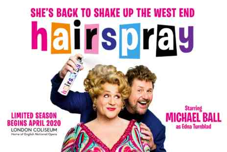 Virgin Experience Days - Hairspray The Musical Theatre Tickets with Pizza and Prosecco for Two - Save 0%