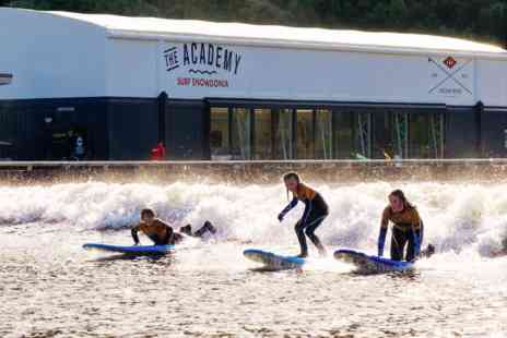 Adventure Parc Snowdonia - Beginner Surf Lesson for Two - Save 0%