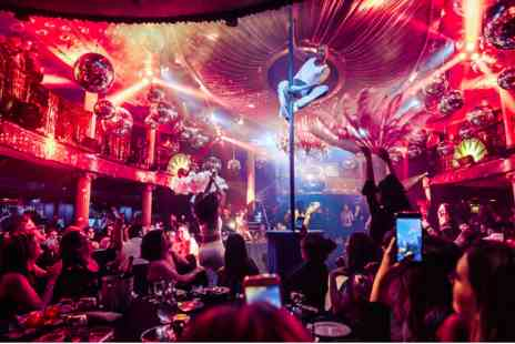 Cafe De Paris - Friday Night Cabaret Show with Two Course Meal and Cocktail for Two - Save 0%