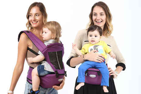 Secret Storz - Adjustable baby carrier sling backpack - Save 58%