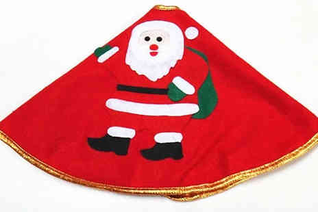 EClife Style - Christmas Tree Skirt Choose from 6 Styles - Save 50%