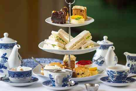 Nunsmere Hall Hotel - Afternoon tea for Two - Save 29%