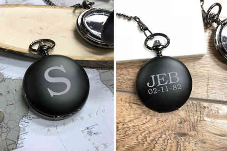 Personalised Gifts Market - Personalised pocket watch - Save 77%