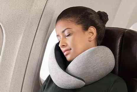My Brand Logic - Travel memory foam pillow choose from three colours - Save 63%